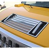 Kasei H3-HVD Fits Hummer H3 Chrome Hood Vent Deck Kit