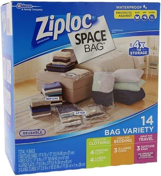 Amazon.com: Bolsa Ziploc cerrada al vacío: Home & Kitchen