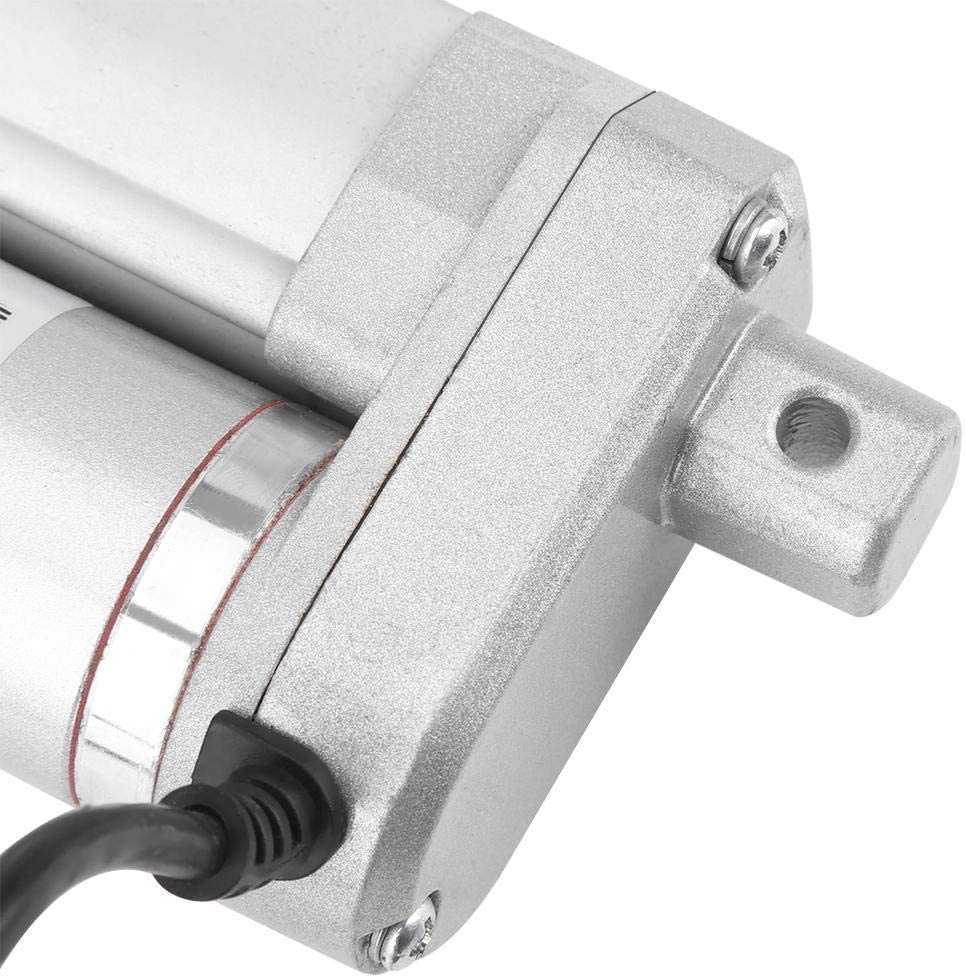 50MM Multifunction 12v DC Small Electric Metal Materia Linear Actuator Cylinder Lift Stroke 50//100//150//250//300mm 140KG Maximum Heavy Duty Motor for Medical Automation
