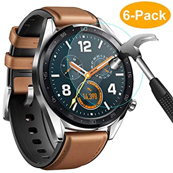 CAVN Huawei Watch GT Protector de Pantalla, [6 Packs ...
