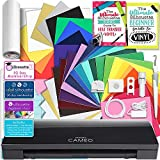Silhouette Black CAMEO 3 Creative Bundle with Bluetooth, 12 Oracal, 651 Sheets and 12 Siser Easyweed Heat Transfer Sheets