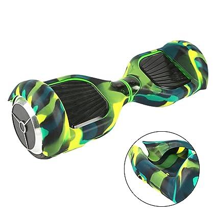 BEETEST Silicona protectora piel funda para Universal 6.5 pulgadas 2 ruedas inteligente auto equilibrado Scooter pase Junta Hoverboard: Amazon.es: Deportes ...