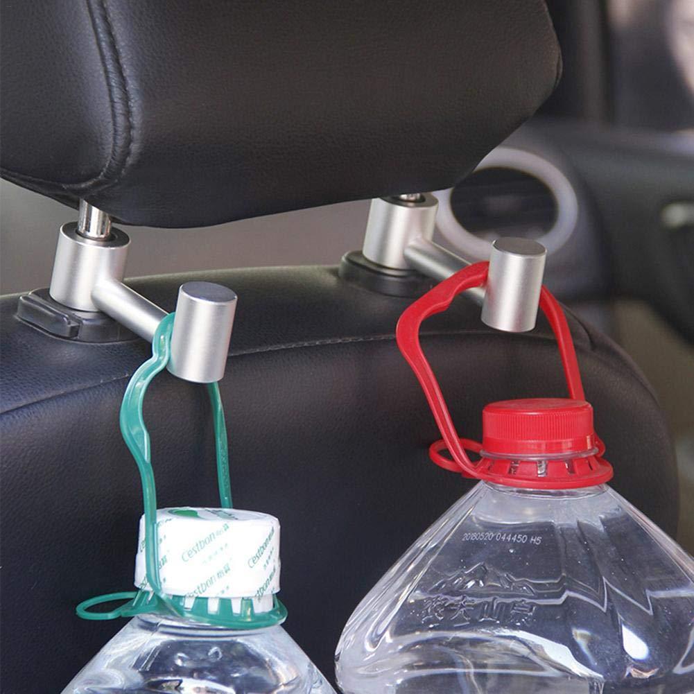 Cassiela Autohaken aus Aluminiumlegierung Auto eingebauter Haken aus Aluminiumlegierung Autohaken Autositzhaken
