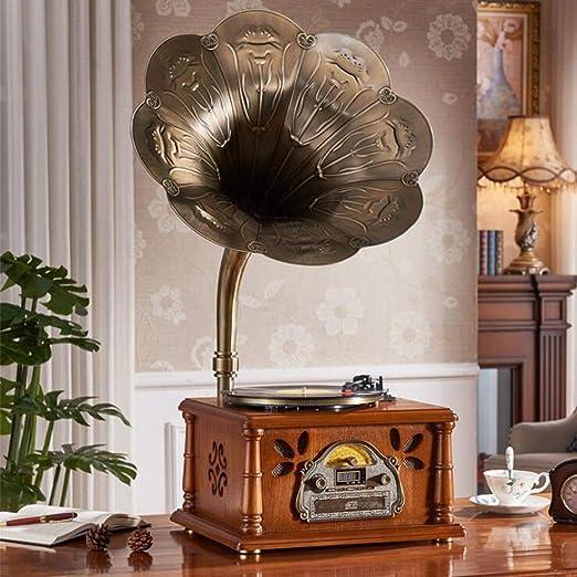 Tocadiscos con altavoces modernos, tocadiscos estéreo de 3 ...