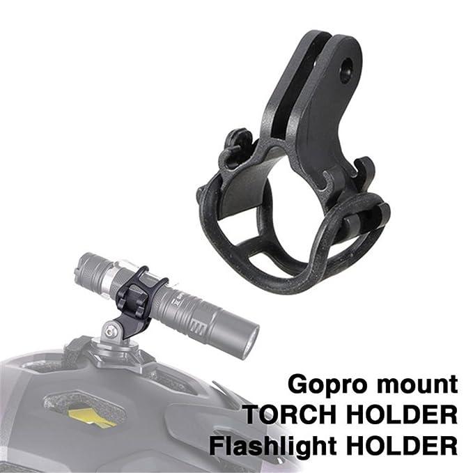 Bike Cycle Bicycle Torch Mount HOLDER Adjustable Universal LIGHT BRACKET CLIP