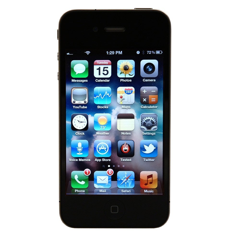 Apple iPhone 4S 8 GB Verizon, Black