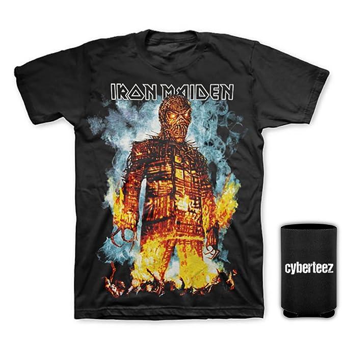 b8123fd4 Iron Maiden Wicker Man Final Frontier Tour 2010 North America T-Shirt S-3XL