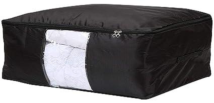 Bolsa para almacenamiento de ropa de EVST con dos asas para debajo de la cama en tela Oxford
