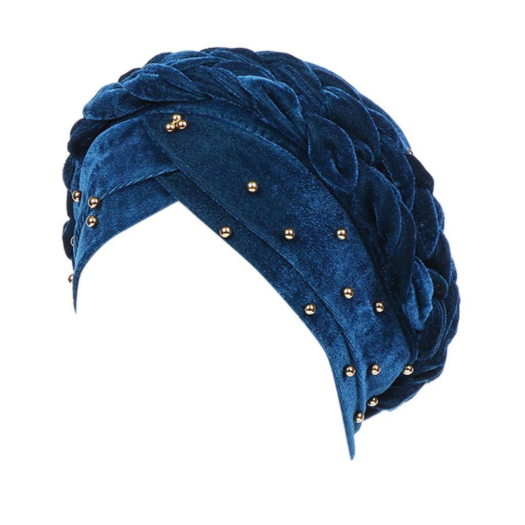 Pañuelos para la Cabeza para Mujer,BBestseller Sombrero de Mujer Musulmana Protector Solar Gorra Toallas,para quimio: Amazon.es: Ropa y accesorios