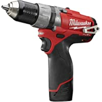 Milwaukee M12 CPD FUEL 2 - Taladro (Ión de litio, 12V, 40 min, 1.3 kg, Negro, Rojo)