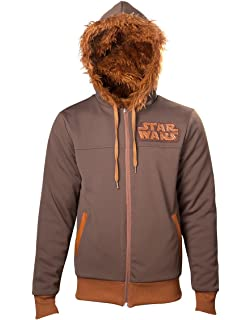 Sudadera Reversible Star Wars Chewbacca (Marrón)