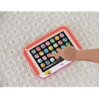 Fisher-Price Ríe y Aprende Tablet de Aprendizaje Crece Conmigo, Rosa