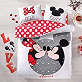 Disney, Mickey & Minnie Love, Queen Size