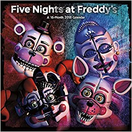 five nights at freddys sister location 2018 calendar