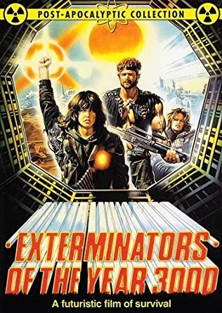 exterminators of the year 3000 dvd