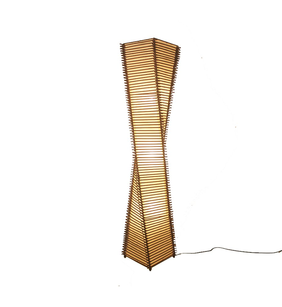 Amazon.com: XR Rattan Floor lamp Modern Chinese Living Room ...