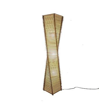 Rattan Stehlampe Moderne Chinesische Wohnzimmer Studie Schlafzimmer Hotel  Bamboo Cane Kunst Südostasien E27 Durchmesser 23 ×