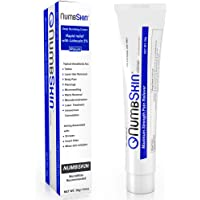 Numbing Cream 5% Lidocaine Topical Anesthetic – Fast Acting Tattoo Numbing Cream for Deep Pain Relief and Numbing Cream for Microneedling / Piercing / Microblading / Dermarolling / Laser hair removal / Electrolysis (1 Tube)