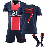 2021 Camiseta De Fútbol Paris Away, 7#10#11#Camisetas De Fútbol Camiseta y Pantalón Calcetín Corta Entrenamiento…