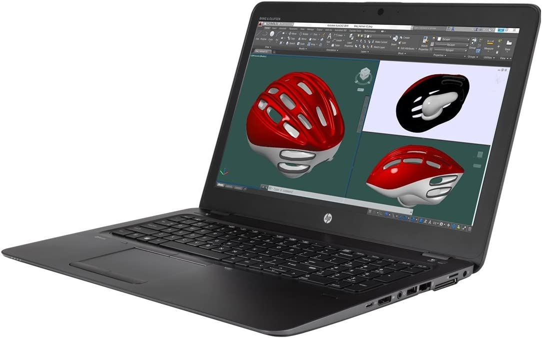 "HP ZBK3 V1H65UT#ABA Commercial Specialty Laptop (Windows 10, Intel Core i7-6500U, 15.6"" OLED Screen, Storage: 512 GB, RAM: 16 GB) Black"