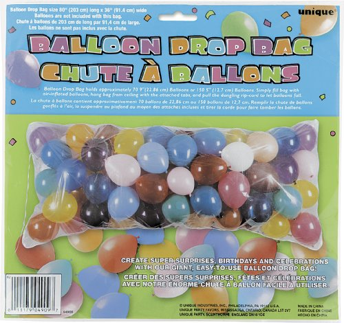 Balloon Drop Bag for $<!--$3.98-->
