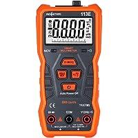 Loijon RM113E Multímetro digital NCV 6000 contagens que variam automaticamente medidor de temperatura de tensão CA/CC…