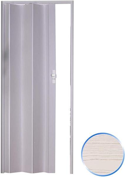 Innenraum Faltt/ür in PVC Holz dunkel 83x214 cm mod Maya