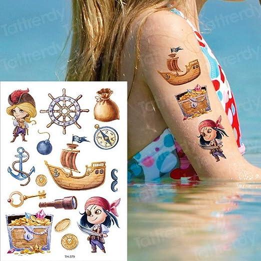 adgkitb 3 Piezas Tatuaje Temporal Pegatina niños Tatuajes niños ...