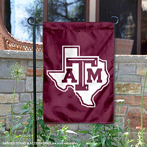 (College Flags and Banners Co. Texas A&M University Lone Star Garden Flag)