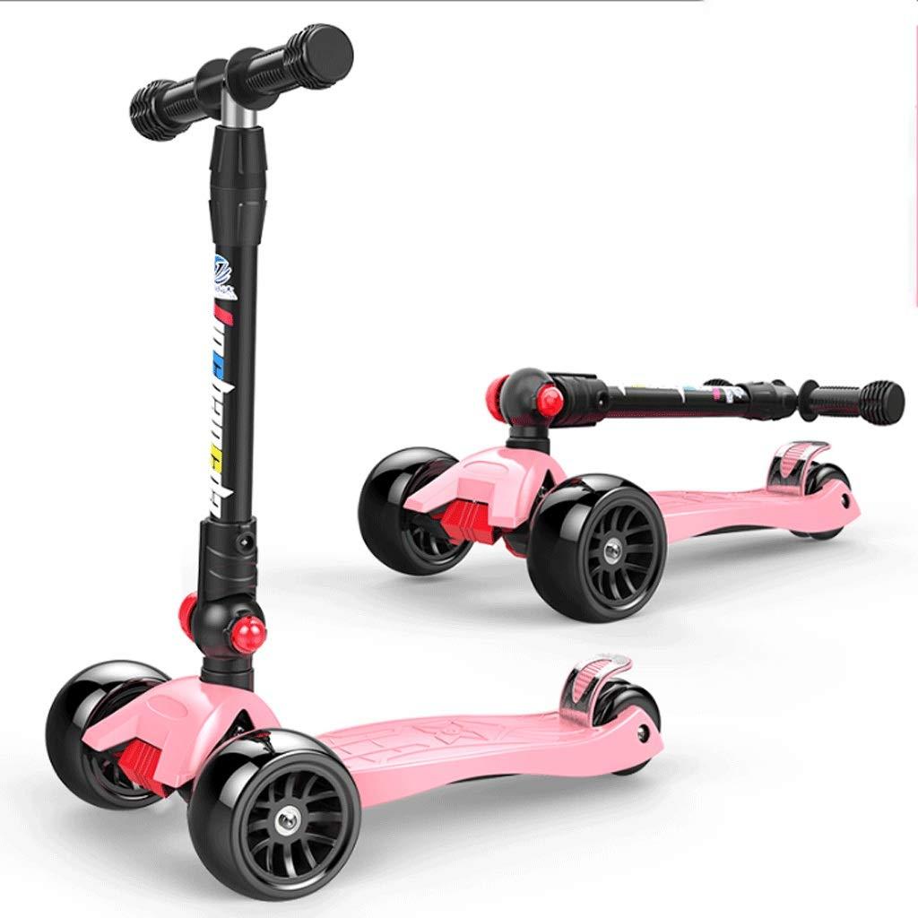 最新な WangYi スケートボード- 212歳に適した四輪フラッシュホイールの子供用スクーター 58x13x89cm) (色 : Orange, サイズ さいず さいず : WangYi 58x13x89cm) B07NMD1KBW 58x13x89cm|Pink Pink 58x13x89cm, ヤマモトチョウ:fdc60ed4 --- a0267596.xsph.ru