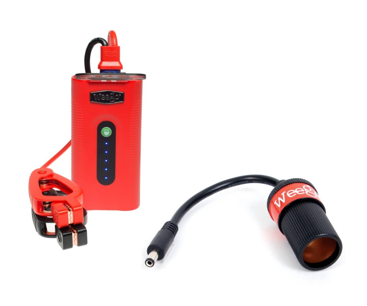 Weego N44/JSFSA Jump Starter 44 with 12v DC Adapter Cable Bundle - Jump Starts 7L Gas & 3.5L Diesel Engines by Weego (Image #1)