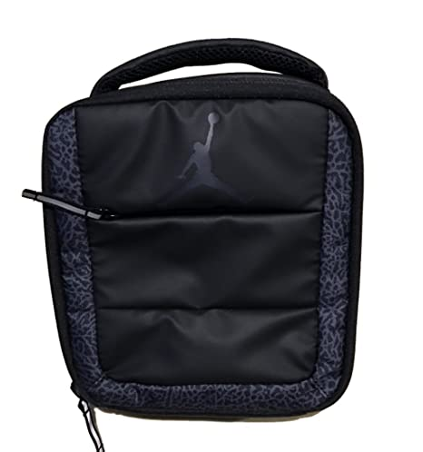 1fa95575277f Image Unavailable. Image not available for. Color  Nike Air Jordan Elephant  Print Kids Square Lunch Tote