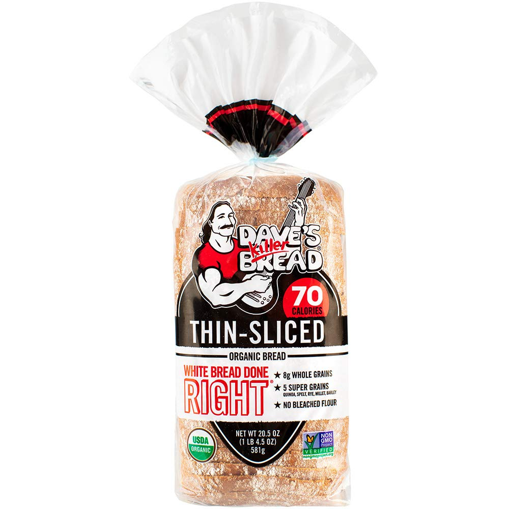 Dave's Killer Bread Organic White Bread Done Right - 20.5 oz Loaf