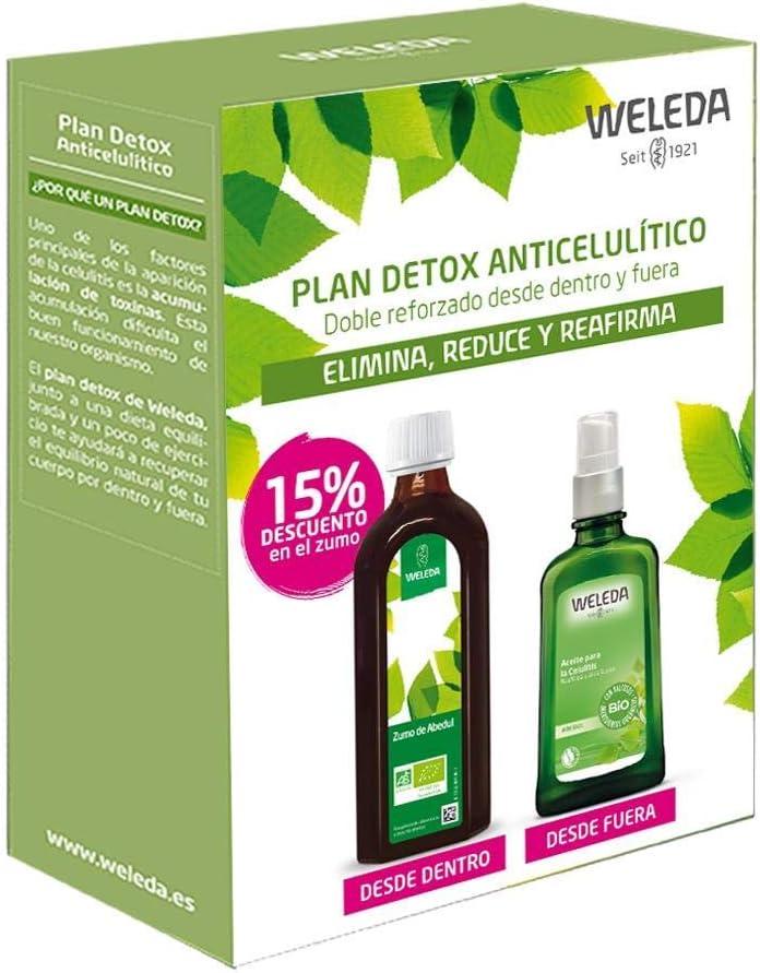 Plan detox weleda (zumo de abedul + aceite de abedul): Amazon.es: Belleza