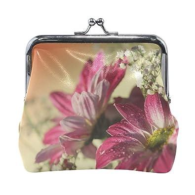 Amazon.com: Rh Studio - Monedero con diseño de flores ...