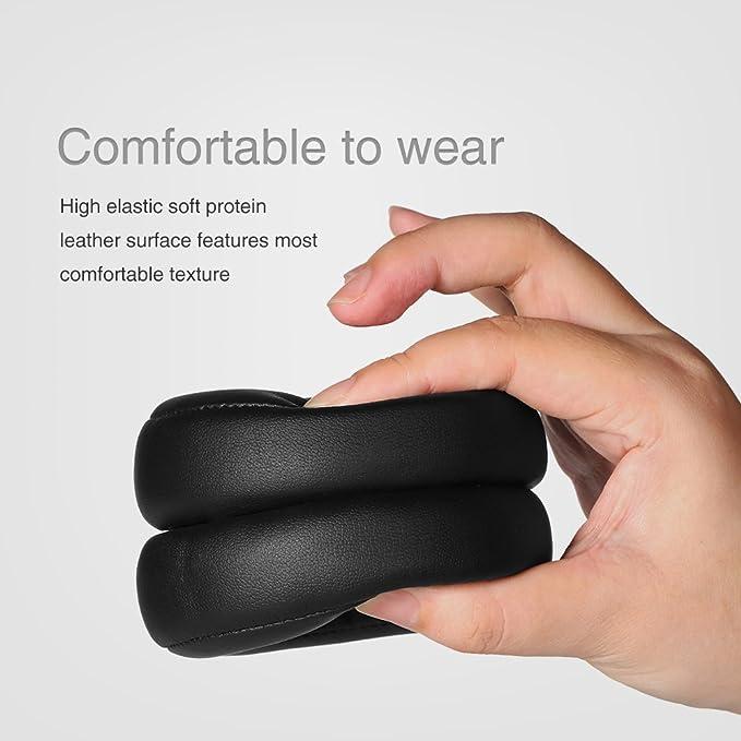 KKmoon Reemplazo Ear Pad Cushion Carcasa Protein Espuma de Memoria de piel Para Monster Beats de Dr. Dre Pro Detox Headphone: Amazon.es: Electrónica
