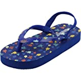 Flipside Kids Kiddo Blue Slippers