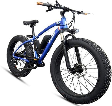 Jun Bicicleta Eléctrica para Adultos, Batería De Litio Inteligente ...