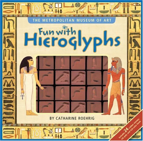 Fun with Hieroglyphs - Ancient Egypt Art