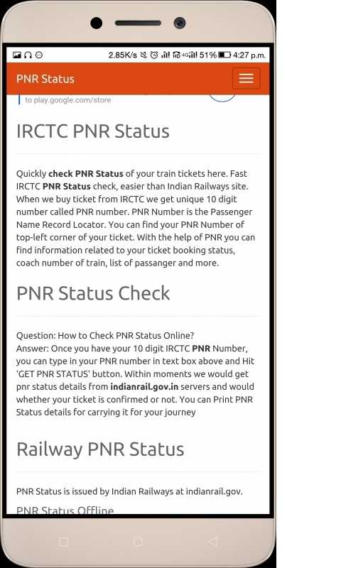 Amazon com: IRCTC PNR: Appstore for Android