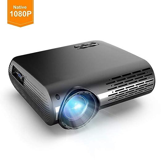 Ai LIFE Proyector de Video LED Proyector de 16000 lúmenes HD 1080P ...