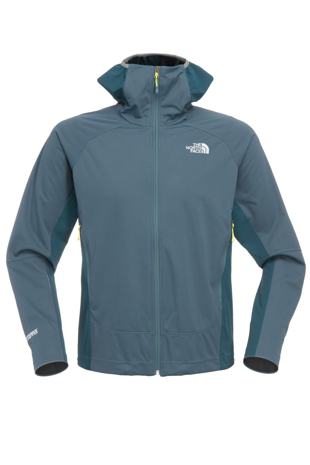 The North Face Men's Alpine Project Hybrid Hoodie Jacket (L, Conquer Blue)