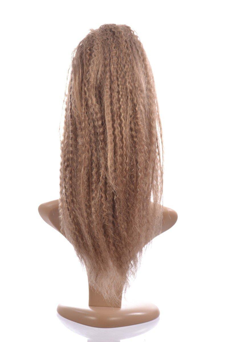 Dark Blonde Pony Crimp Ponytail Hairpiece