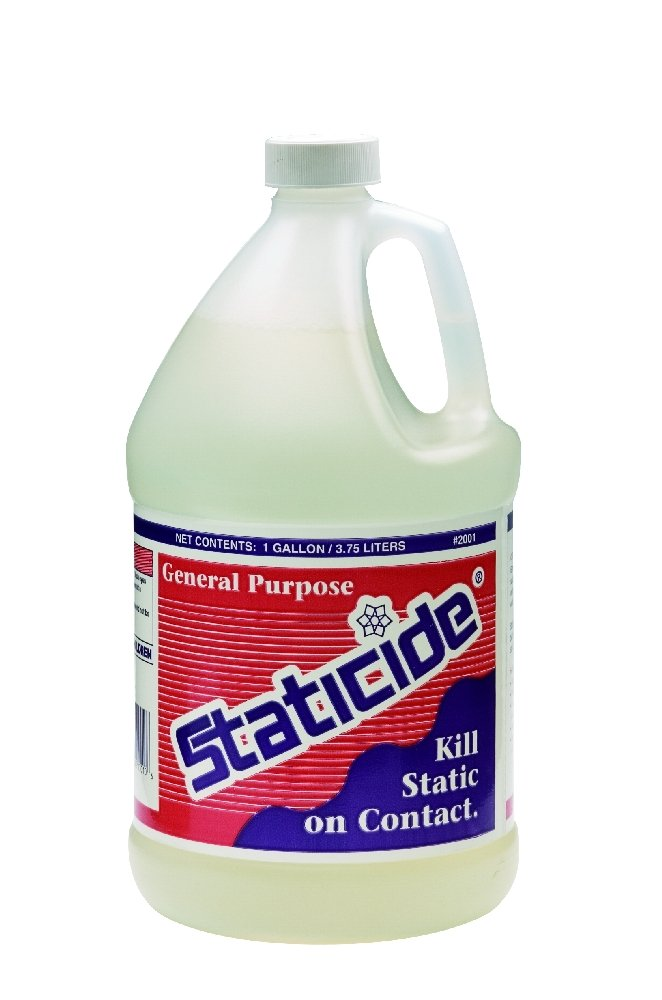 ACL Staticide 2001 General Purpose Topical Anti-Stat, 1 Gallon Bottle Refill by ACL Staticide