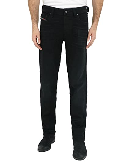 b52ad598 Amazon.com: Diesel Mens Tapered Stretch Jeans Larkee BEEX 0674N Black  Faded: Clothing