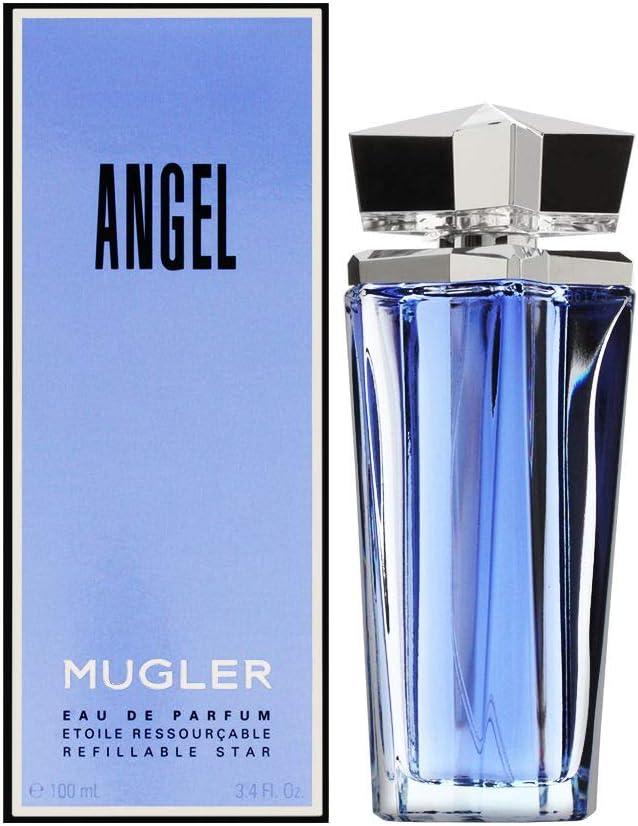 Thierry Mugler Angel Agua de perfume Vaporizador Refillable 100 ml ...