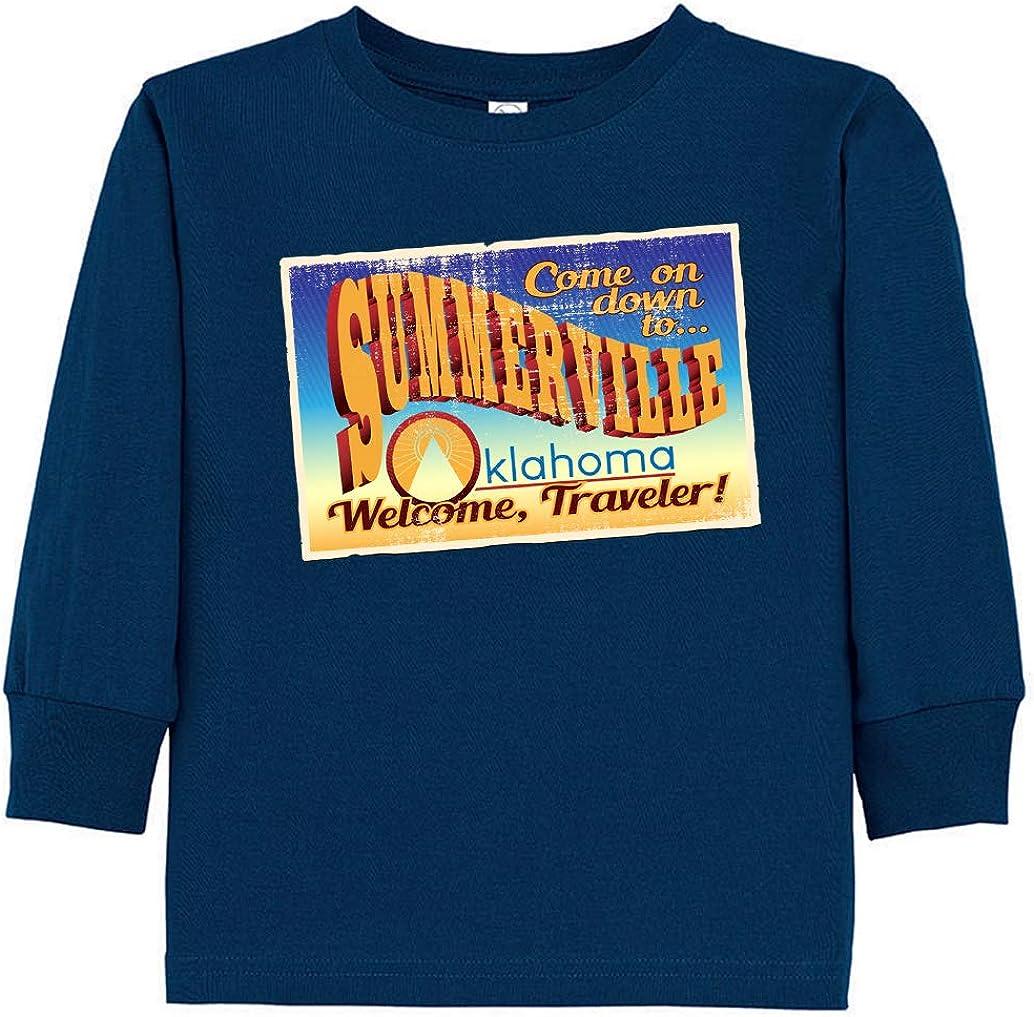 Tenacitee Toddlers Summerville Long Sleeve T-Shirt
