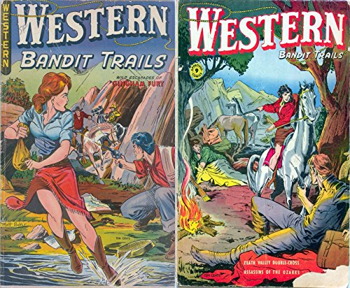 Western Bandit Trails. Issues 3 and 9. Wild escapades of Gingham Fury. Features Assassins of the Ozarks and Death Valley Double cross. Golden Age Digital Comics Wild West Western