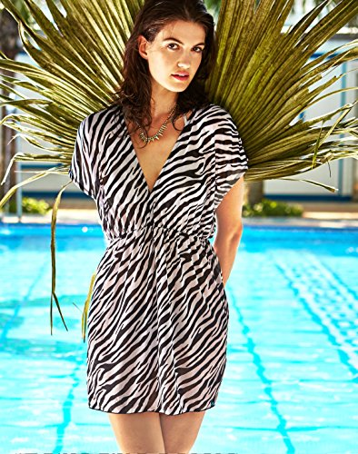 Zebra Print Dress - 3