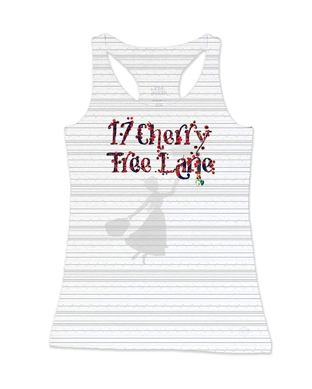 Marry Poppins 17 Cherry Tree Lane Core Racer Back Performance Tank